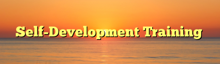 Self-Development Training